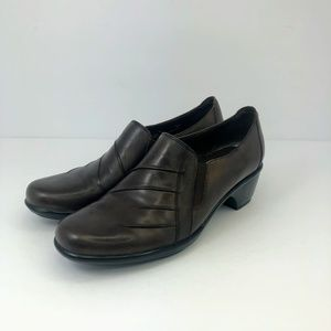 Clarks Partridge Loafers Shoes Women's Brown
